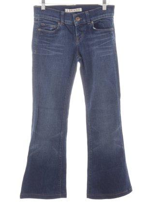 J brand Jeans a zampa d'elefante blu Colore sfumato stile casual
