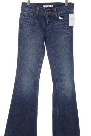J brand Jeans flare bleu style des années 70