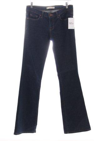 J brand Jeansschlaghose dunkelblau Casual-Look