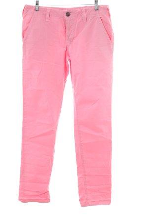 J brand Pantalone di lino rosa stile professionale