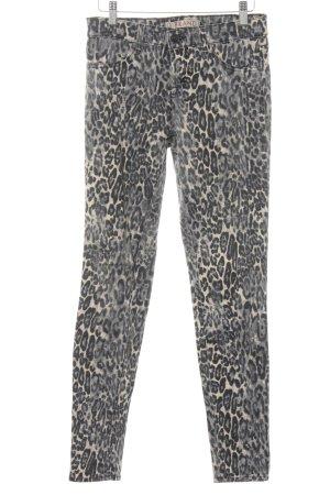 J brand Skinny Jeans Animalmuster Animal-Look
