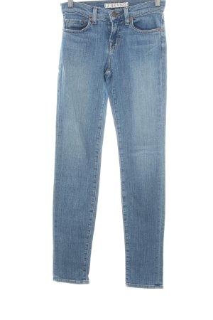 "J brand Jeans skinny ""Coastal"" blu acciaio"