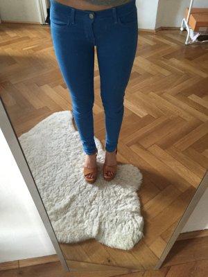 J Brand skinny jeans Coated beschichtet blau w24 34 36 Designer jeans Hose