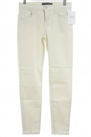 J brand Skinny Jeans cream casual look