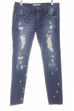 "J brand Jeans skinny ""Cut# 4964"" bleu foncé"
