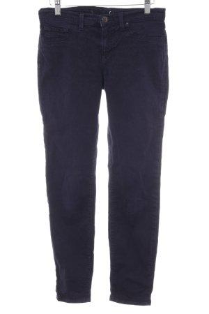 J brand Skinny Jeans dunkelblau Webmuster Casual-Look