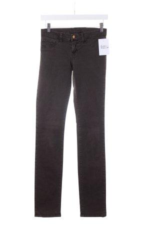 J brand Skinny Jeans dunkelbraun Casual-Look