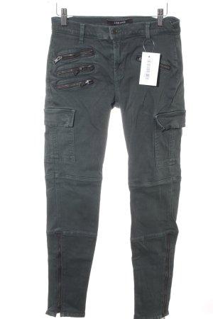 J brand Skinny Jeans dunkelgrün-khaki Casual-Look