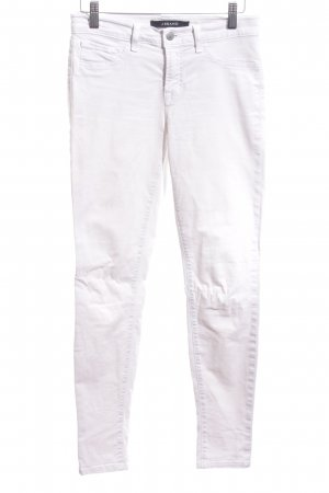 J brand Skinny Jeans weiß Casual-Look