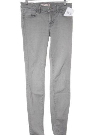J brand Skinny Jeans grau schlichter Stil