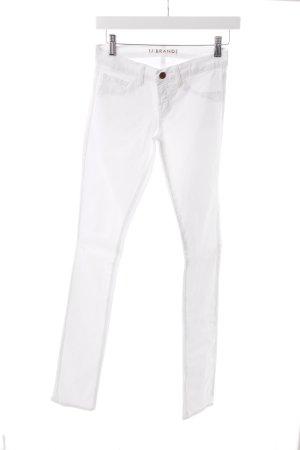 """J brand Skinny Jeans """"Pencil Leg """" weiß"""