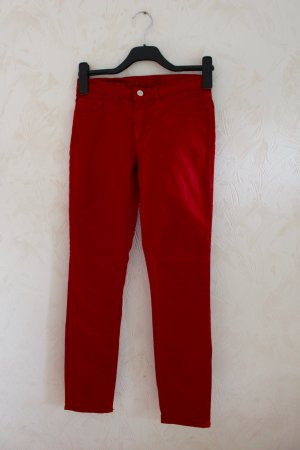 J Brand Skinny Jeans Rot Gr. 26