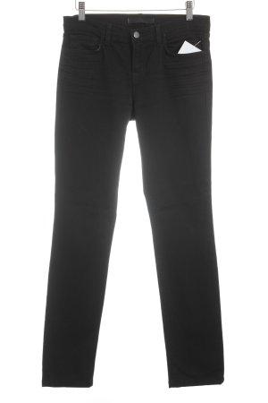 J brand Skinny Jeans schwarz sportlicher Stil