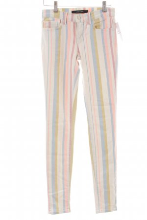 J brand Skinny Jeans Streifenmuster extravaganter Stil