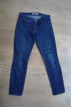 J Brand Skinny Leg Jeans dunkelblau, Gr. 27