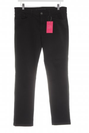 J brand Slim Jeans schwarz Jeans-Optik