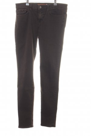 J brand Slim Jeans braun Allover-Druck Casual-Look