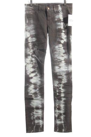 J brand Slim Jeans grüngrau-weiß Bleached-Optik