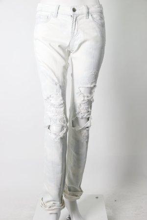J Brand Slim Jeans hellblau-weiß