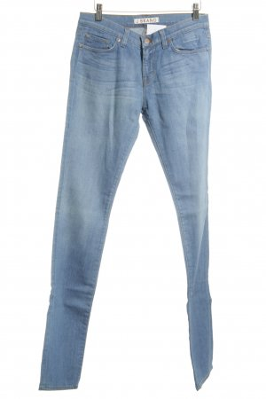 J brand Slim Jeans hellblau-wollweiß Washed-Optik