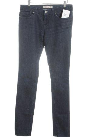 J brand Straight-Leg Jeans dunkelblau Casual-Look