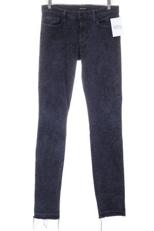 J brand Straight-Leg Jeans dunkelblau Street-Fashion-Look