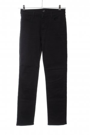 J brand Stretch Jeans black casual look