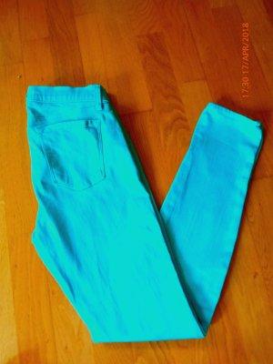 J Brand Super-Skinny Jeans 29 türkis