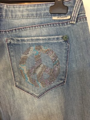 Boot Cut Jeans light blue cotton