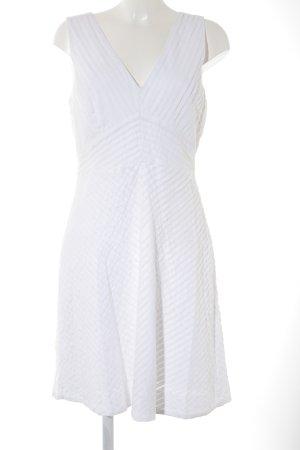 J.crew A-Linien Kleid wollweiß