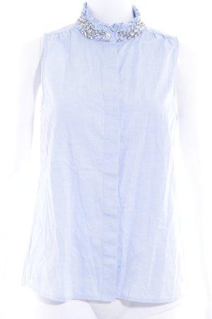 J.crew ärmellose Bluse himmelblau Elegant