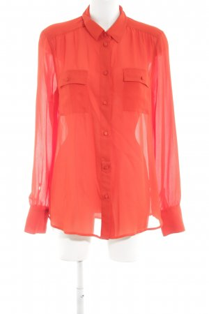 J.crew Hemd-Bluse rot Casual-Look