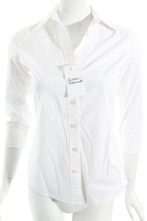 J.crew Hemd-Bluse weiß schlichter Stil