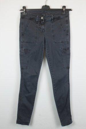 J Crew Jeans Cargohose Skinny Leg Gr. US 00 / 34 grau