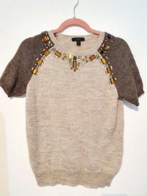 J.crew Short Sleeve Sweater multicolored