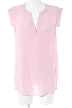 J.crew Kurzarm-Bluse pink Casual-Look