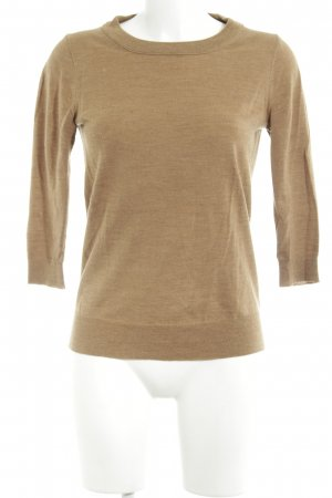 J.crew Short Sleeve Sweater light brown flecked casual look