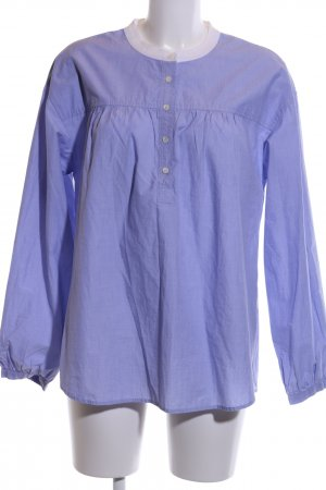 J.crew Langarm-Bluse blau Casual-Look