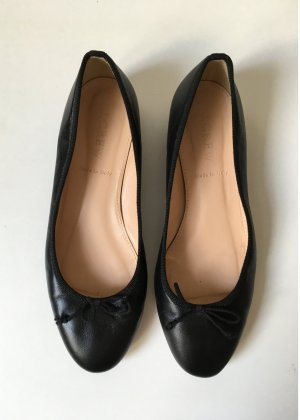 J.crew Mary Jane Ballerinas black