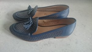J Crew Loafers Schuhe Leder blau 39 NEU