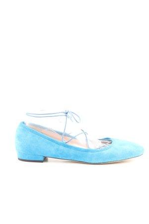 J.crew Mary Jane Ballerinas blau Casual-Look