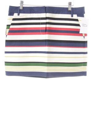 J.crew Mini-jupe motif rayé style décontracté