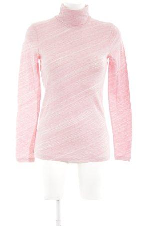 J.crew Rollkragenpullover pink Allover-Druck Casual-Look