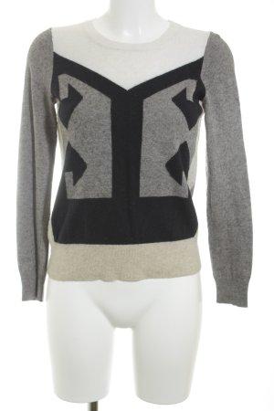 J.crew Kraagloze sweater veelkleurig casual uitstraling