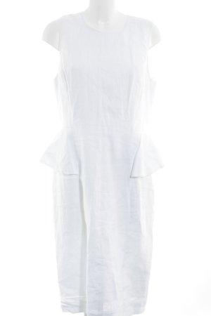 J.crew Peplum jurk wit casual uitstraling
