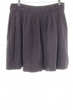 J.crew Gonna in seta marrone-viola stile casual