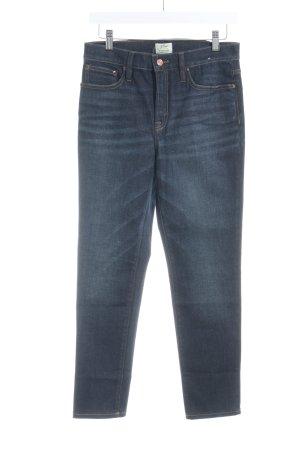 J.crew Skinny Jeans dunkelblau Business-Look