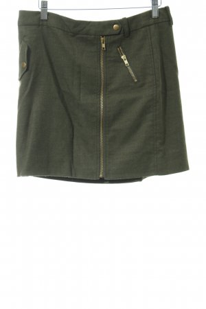 J.crew Falda stretch gris verdoso look casual