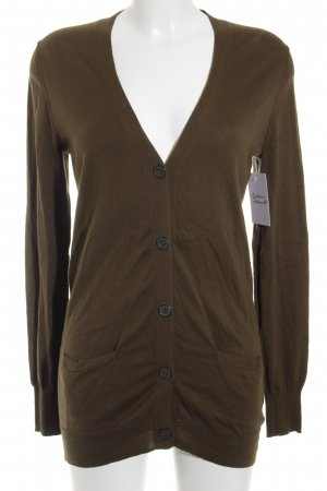 J.crew Strickjacke grüngrau Casual-Look