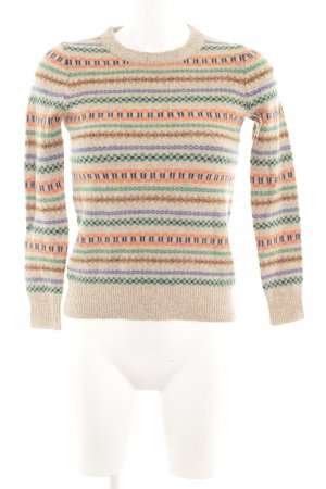 J.crew Strickpullover Allover-Druck Casual-Look